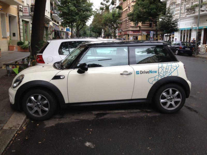 Share-Now - lej bil i Berlin