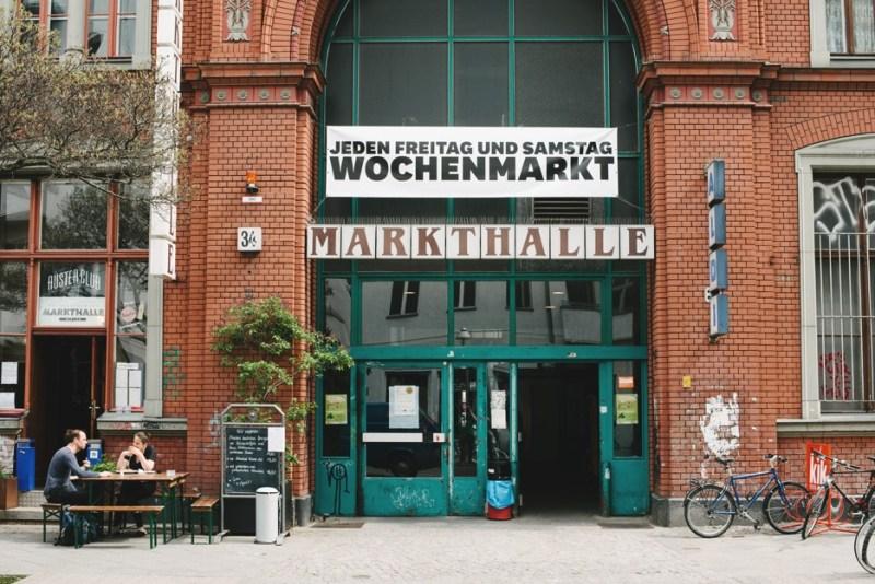 Markthalle Neun. Markthalle - Berlins torvehaller med madmarkeder og street food