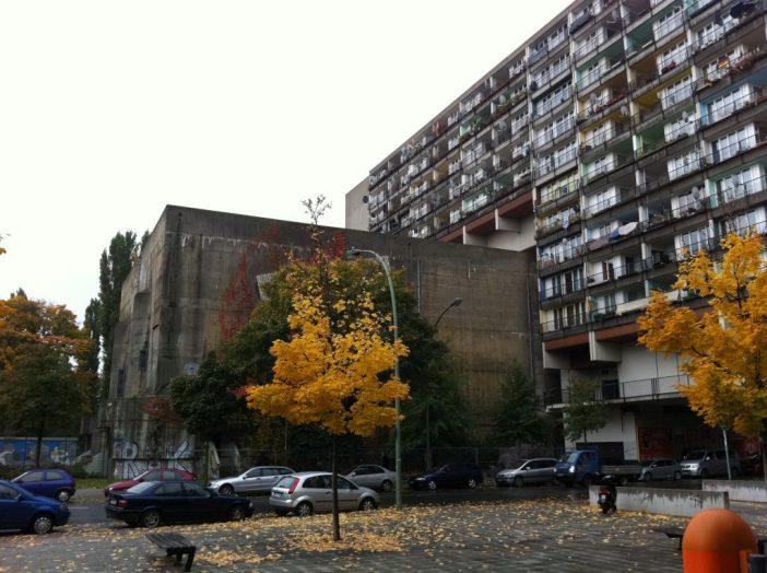 Bunkere i Berlin - Pallasstrasse