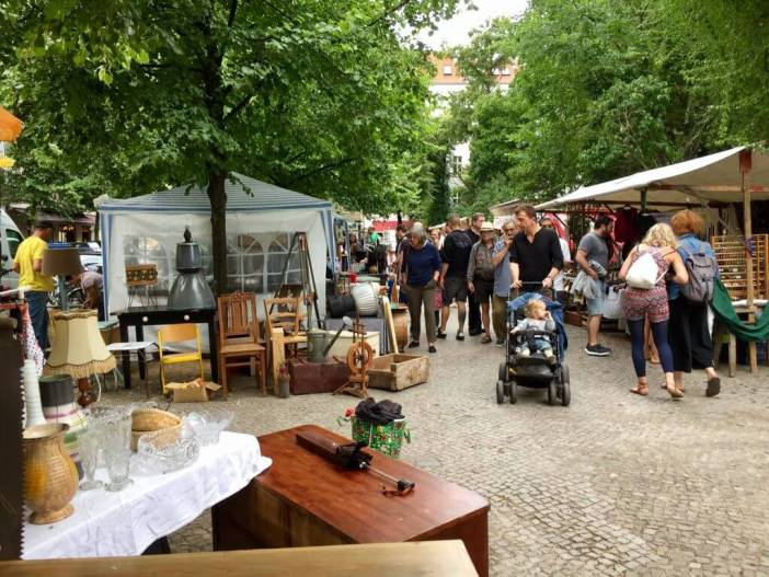 Loppemarkeder i Berlin