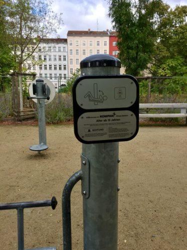 Fitness i Berlin