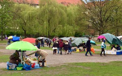 Thaimarked i Preussenpark
