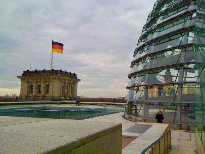 Reichstag - Rigsdagsbygningen i Berlin