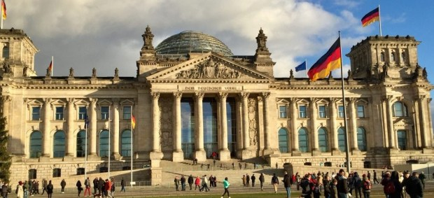 Tur til Berlin - Reichstag - Rigsdagsbygningen i Berlin