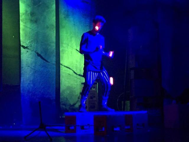 Finale show i Chamäleon Theater Berlin