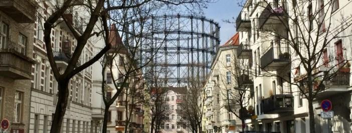 Rote Insel Berlin Gasometer