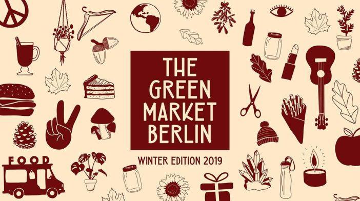 Vegansk livstilsmarked i Berlin