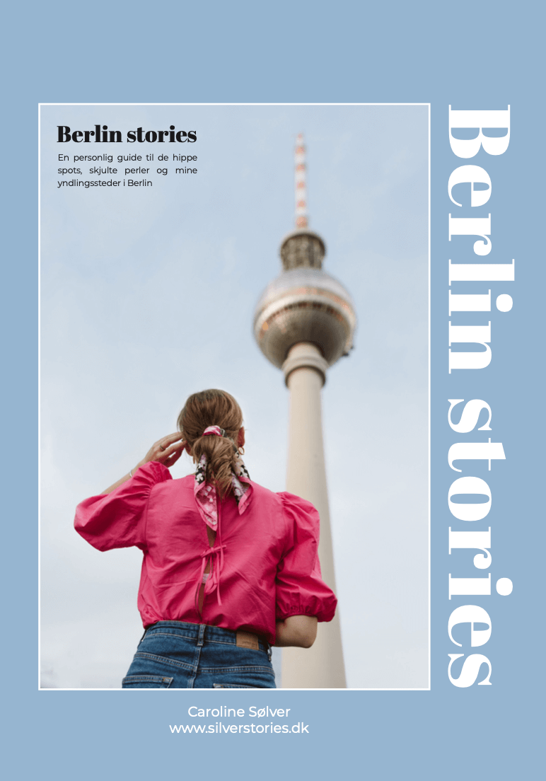 Berlin Stories - ny guidebog af Caroline Sølver