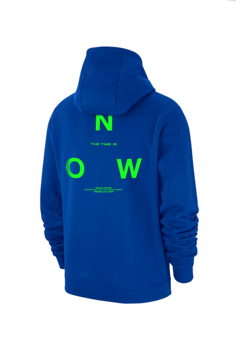 time is now hoodie - web store - shop