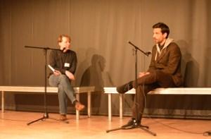 Robert Schoen, Nick Lehmann. Bild: Giuseppe Maio.