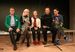 Hemann Bohlen, Mariola Brillowska, Bela, Christan Berner, Frank Schültge. Bild: Tito Loria.