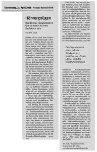 Tim Zülch im nd vom 21.4.16