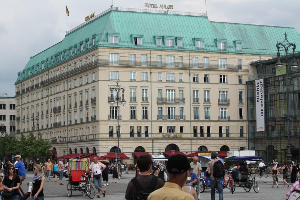 Hotel Adlon på Pariser Plats