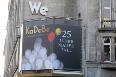 Berlinerblog.dk - KaDeBe (KaDeWe) mauerfall 2014