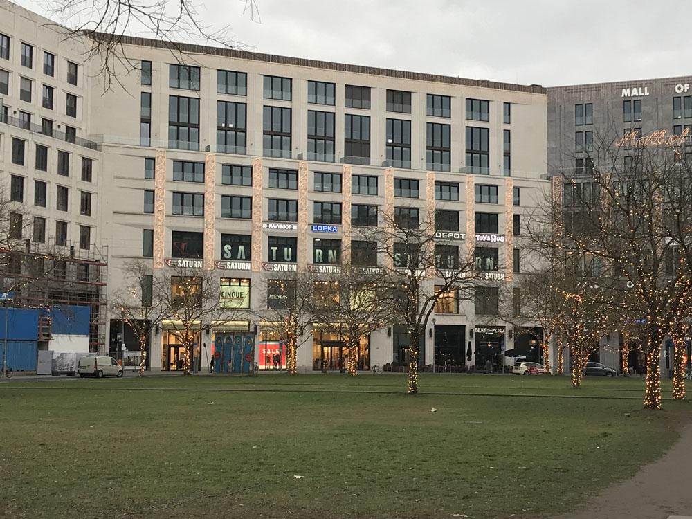 mall Of Berlin - Berlins største shoppingcenter