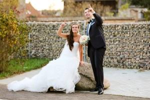 Brautpaar in Schäpe