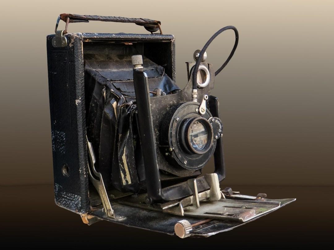 alte Hochzeitskamera