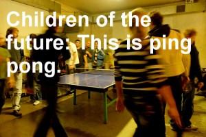 Rundlauf Tischtennis