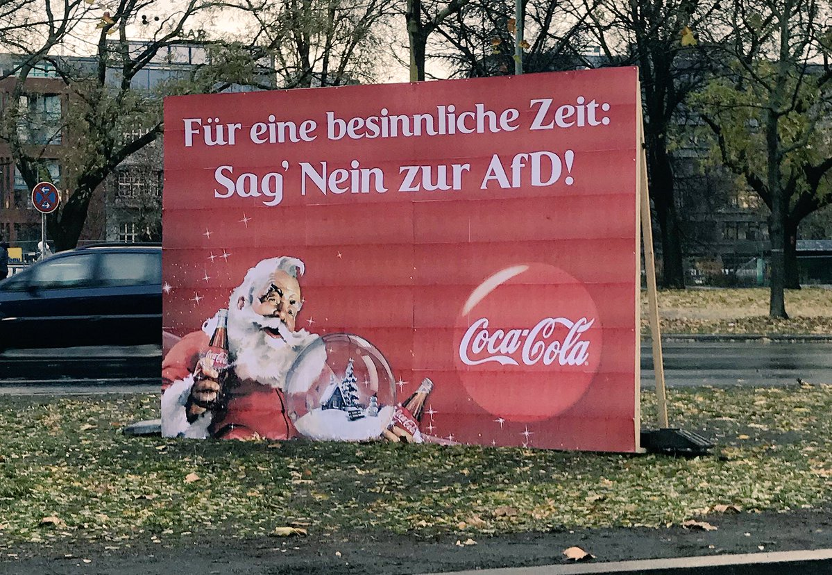 AfD's Christmas War on Cola