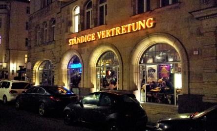 The facade of the Ständige Vertretung