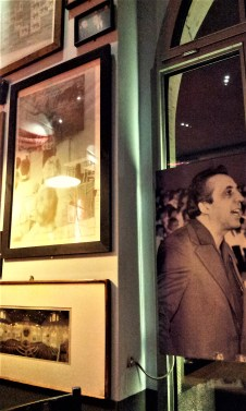 Politicians on the wall, like the former DDR politician Egon Krenz