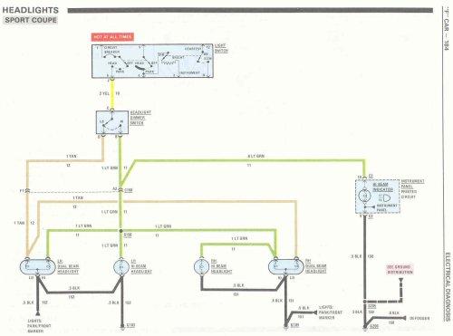 small resolution of 89 iroc no headlights third generation f body message boards 80 camaro wiring diagram 1986 camaro