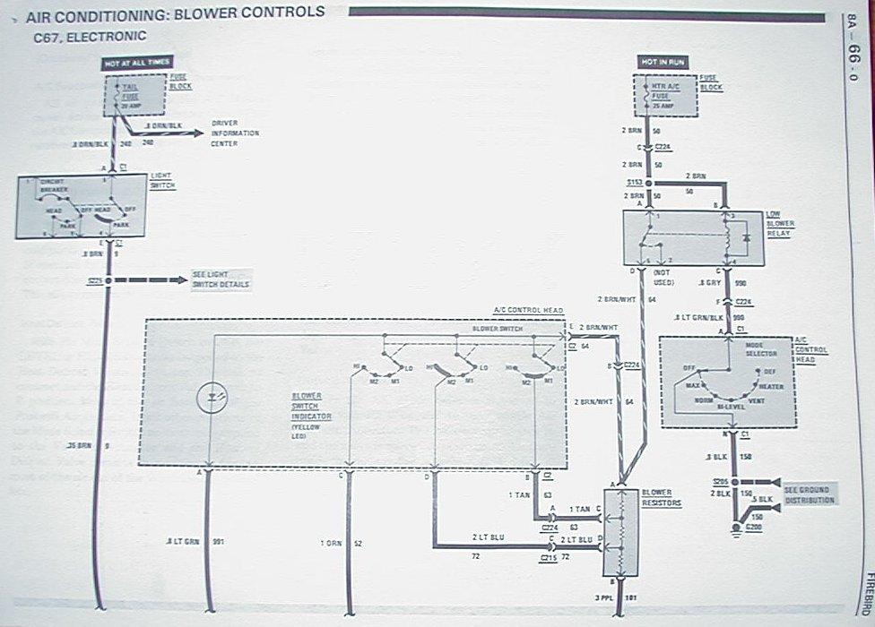 2nd generation camaro wiring schematic