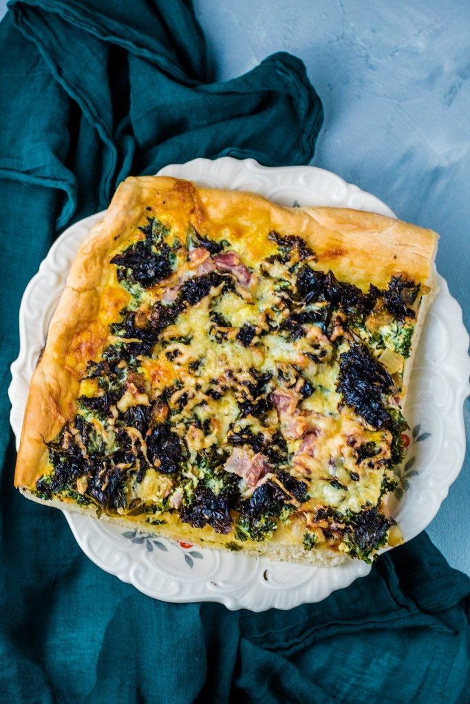 Grünkohl-Kuchen
