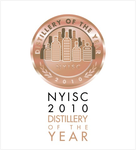 NYISC Distillery of the Year Medalist