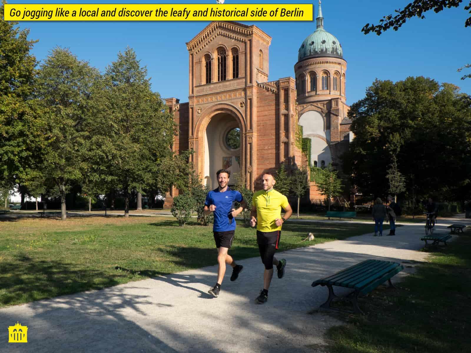 Private jogging tour berlin