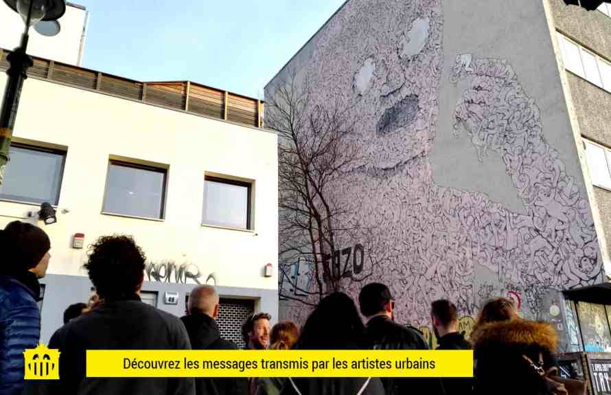 visite guidée art urbain