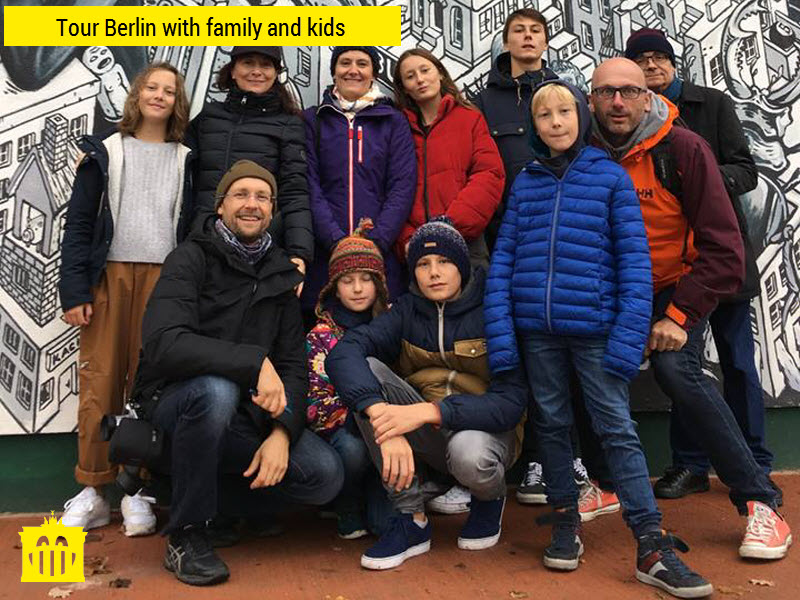 Berlin with family and kids