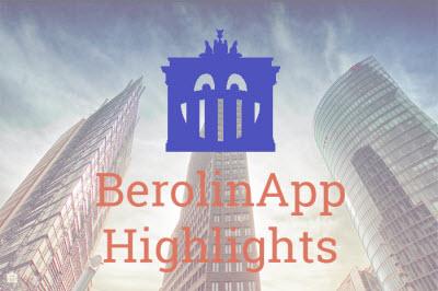 Self guided walking tour Berlin BerolinApp Highlights