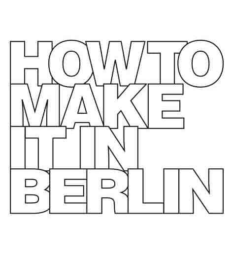 get inspired! how to make it in berlin!, Einladung