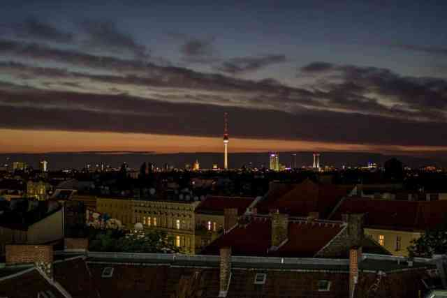 The view from Klunkerkranich. Berlin Loves You New Year's Eve