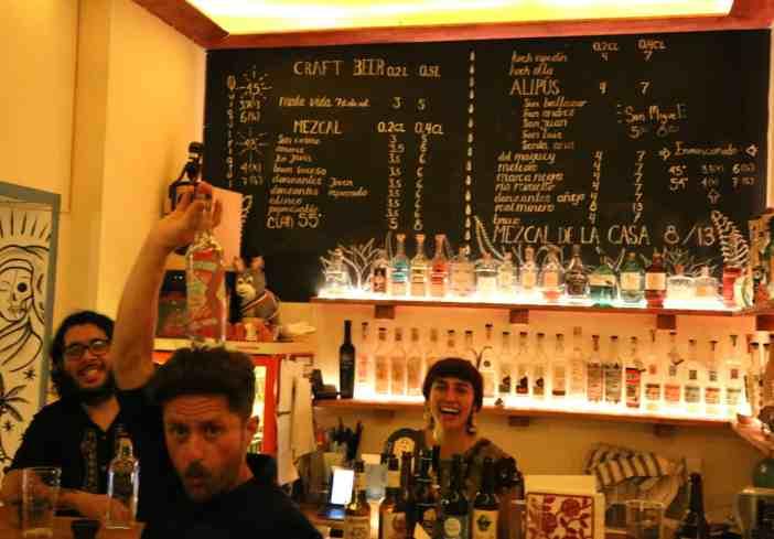 Tentacion Mezcalothek bar fernando fernanda