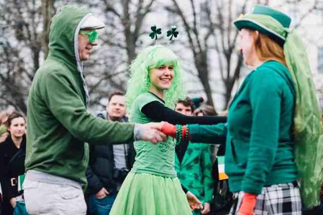 Irish Dancing in the Park
