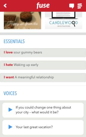 Fuse Dating App Essentials