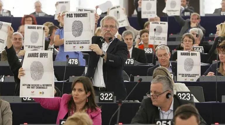 Hands off! Asylum seekers & refugees are not criminals