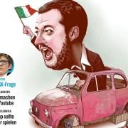 Salvini, screenshot dalla pagina Facebook