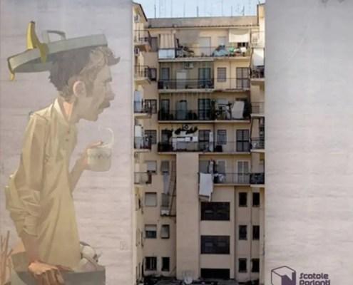 Cristiano Ranalletta Cielo sopra Pigneto