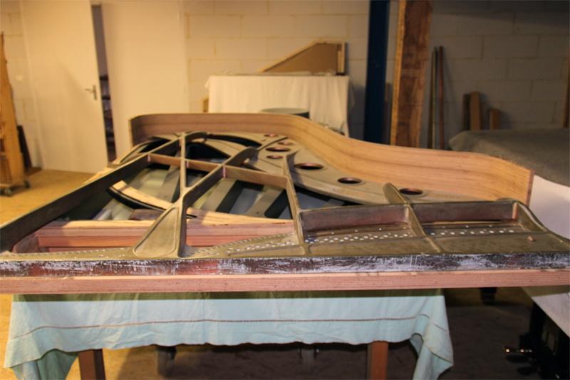 Structure du Stéphen Paulello SP 217