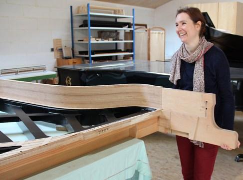 Claire Paulello le travail dans la bonne humeur