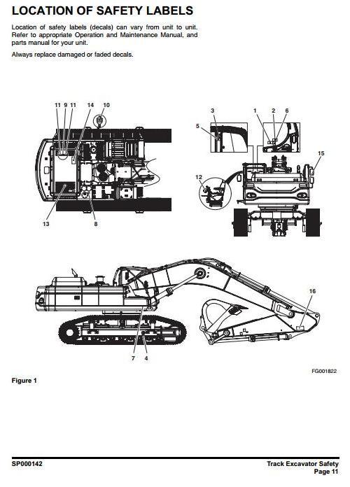 Doosan DX480LC, DX520LC (SN. from 5001) Crawler Excavator