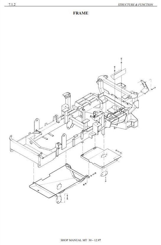 Doosan / Moxy MT27, MT30, MT30R, MT30S Articulated Dump