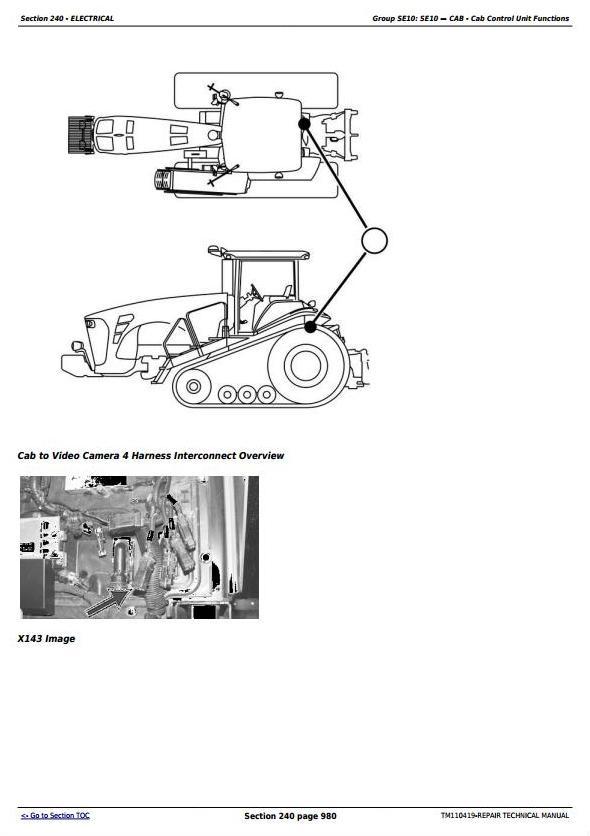 John Deere 8310RT, 8335RT, 8360RT Tractors Diagnostic and