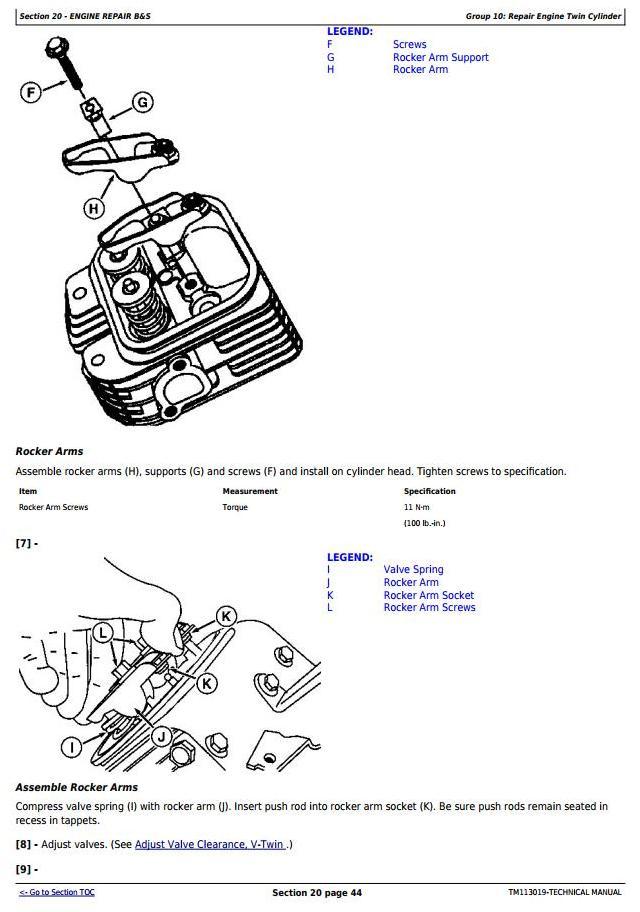 John Deere Z425, Z435, Z445, Z465 EZtrak Residential Mower