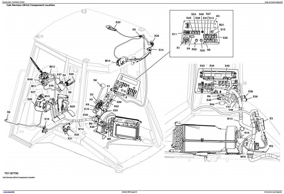 John Deere 310K Backhoe Loader (SN: E219607-) Diagnostic