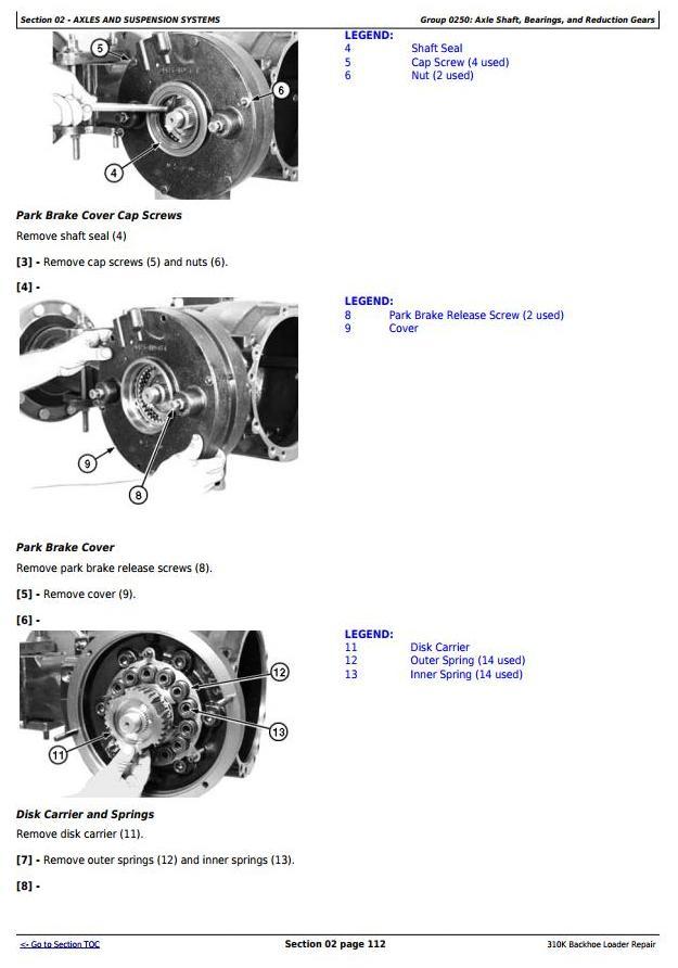 John Deere 310K (iT4/S3B) Backhoe Loader (SN: E219607