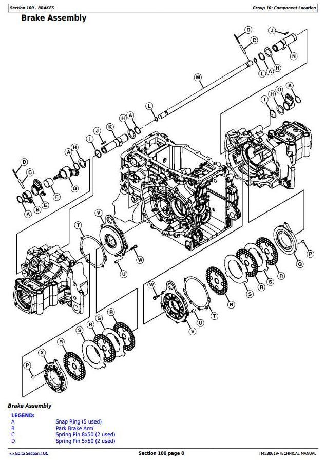 John Deere 3033R, 3038R, 3039R, 3045R, 3046R Compact